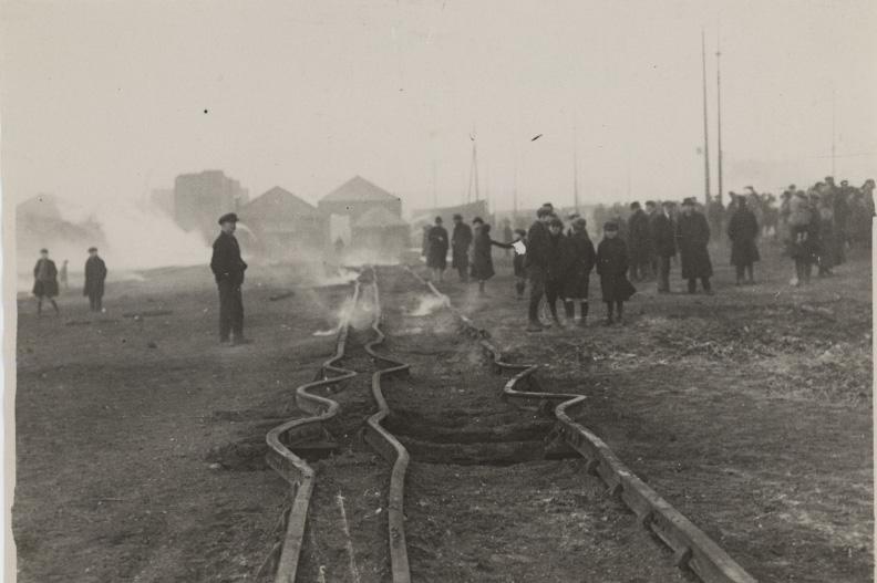Buckled Railway Lines