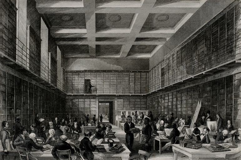 The British Museum: The reading room