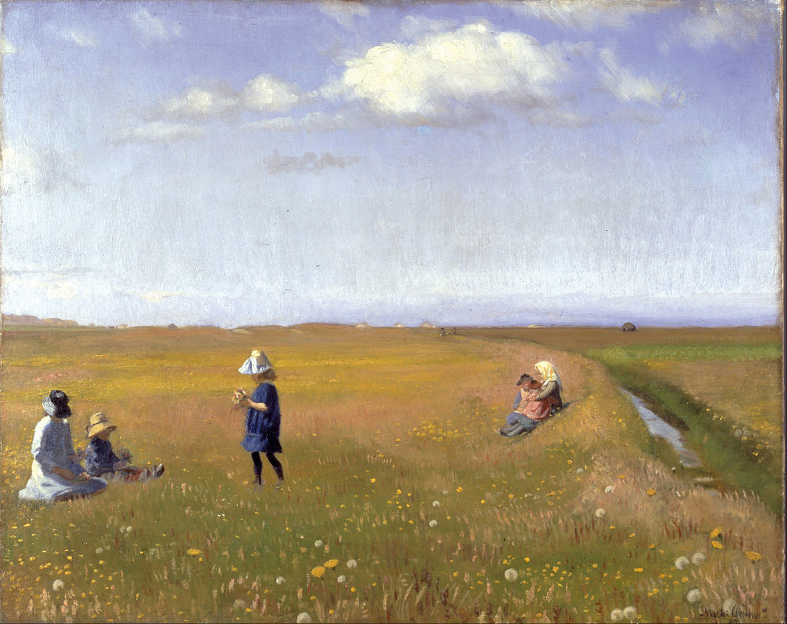1135px-Michael_Ancher_-_Children_and_young_girls_picking_flowers_in_a_field_north_of_Skagen_-_Google_Art_Project