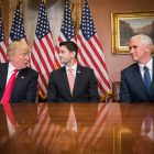 Donald Trump, Paul Ryan, and Mike Pence