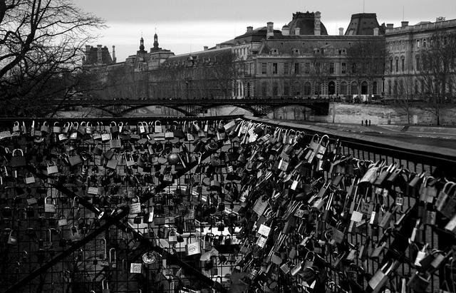 Pont Neuf and padlocks