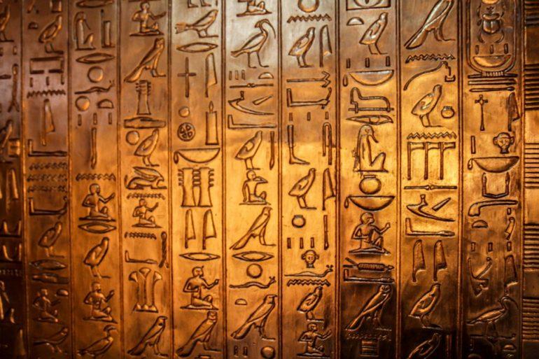 Egyptian Hieroglyphics.