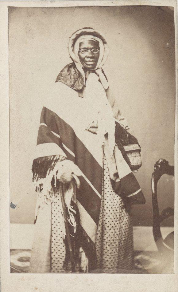 Portrait of Sojourner Truth.