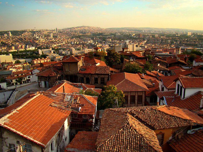 View from Ankara Castle, Ankara, Turkey
