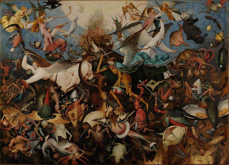 Pieter Brueger the Elder: The Fall of the Rebel Angels