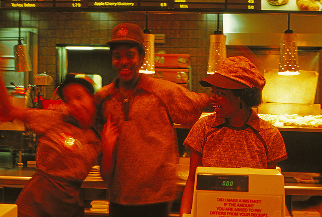 fast food employees