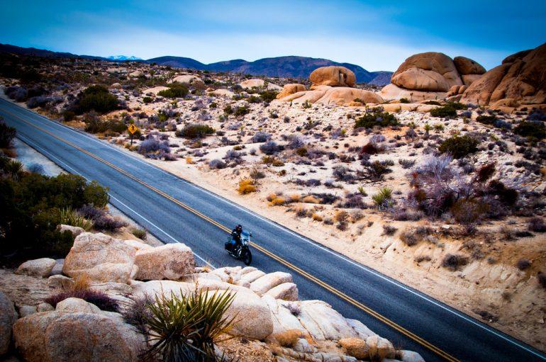 motorcycle-desert