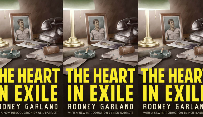 the heart in exile by Garland book cover