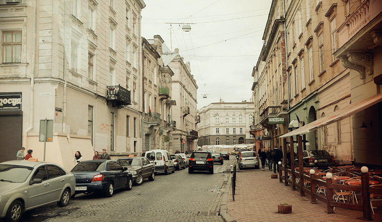 Lviv_Old_Town_Street