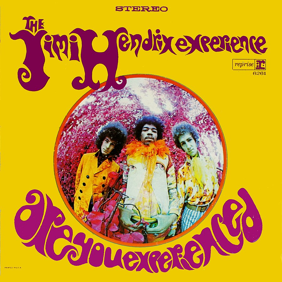 album cover for Are You Experienced by Jimi Hendrix