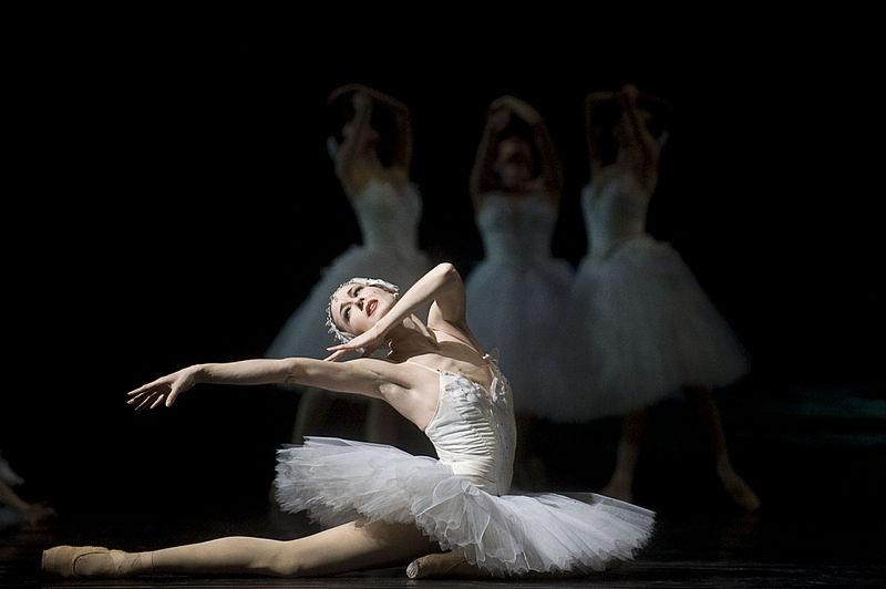 ballerina in swan lake