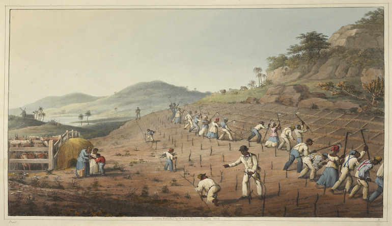 painting of workers