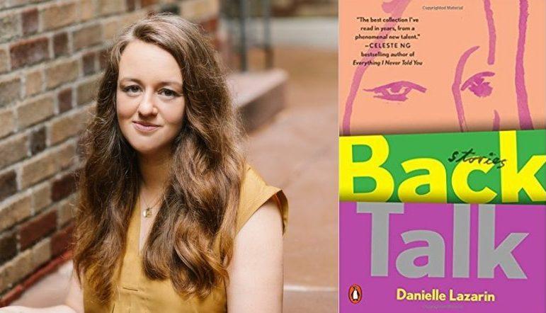 back talk book cover and Danielle Lazarin