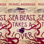 The Sea Beast Takes a Lover cover in a repeated pattern