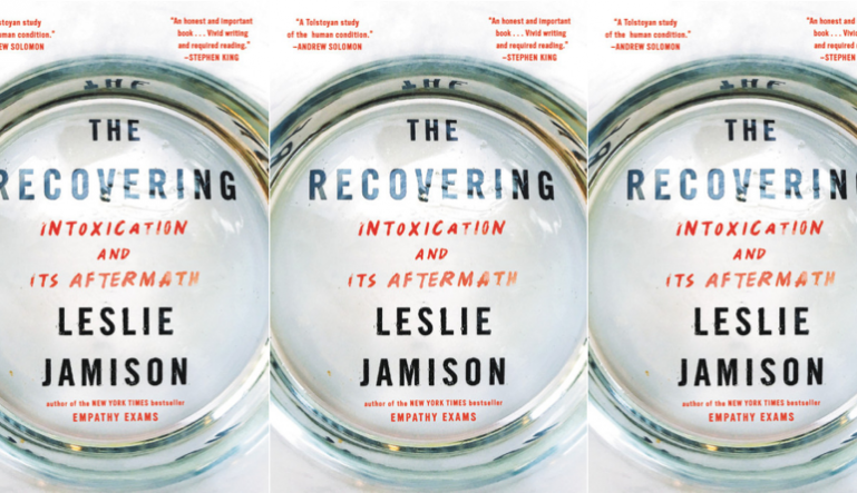 The Recovering cover in a repeated pattern