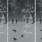Last Stories book cover in a repeated pattern