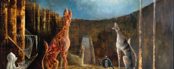 Leonora Carrington's painting, Are you really Sirius?