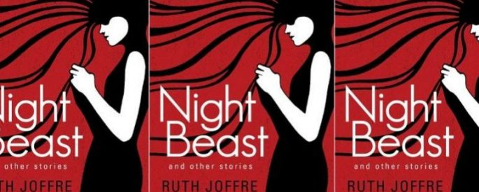 Night Beast and Other Stories book cover in a repeated pattern