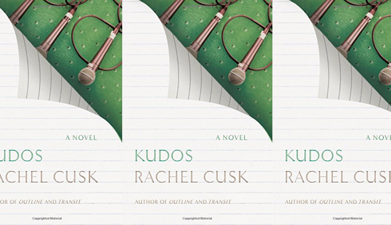 Kudos cover in a repeated pattern