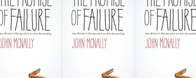 The Promise of Failure cover in a repeated pattern
