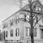 vintage photograph of the Borden House in Fall River, Massachusetts, 1892