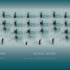 Human Hours cover in a repeated pattern
