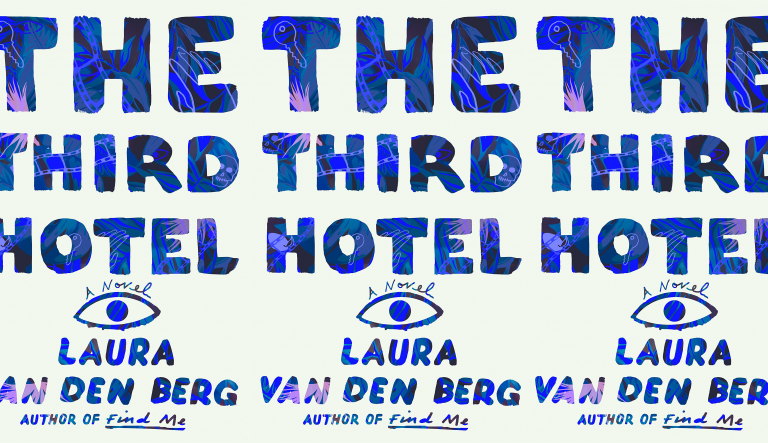 The Third Hotel cover in a repeated pattern