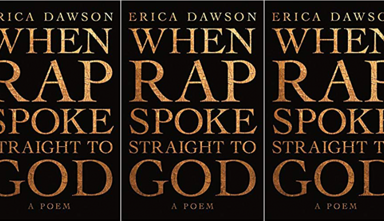 When Rap Spoke Straight to God cover in a repeated pattern
