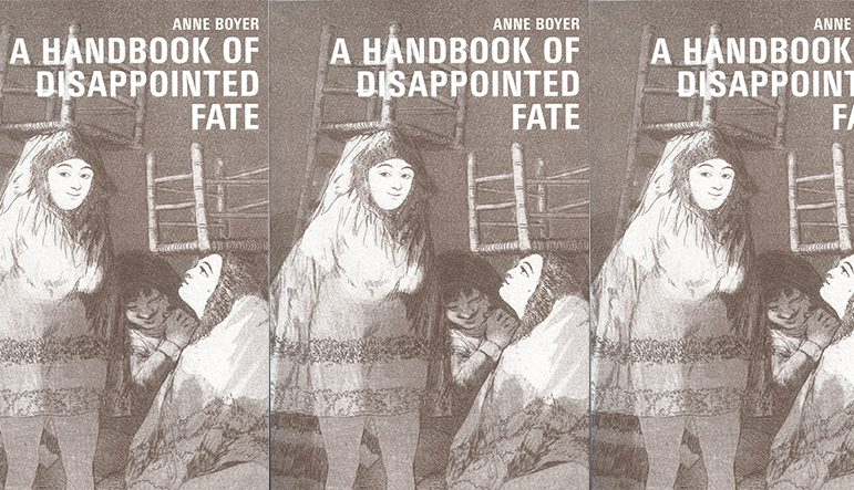 A Handbook of Disappointed Faith cover in a repeated pattern