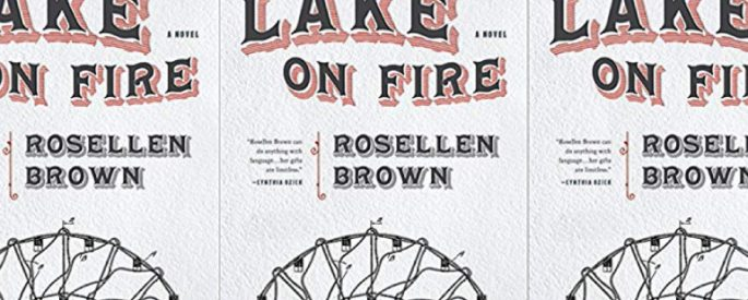 The Lake on Fire by Rosellen Brown
