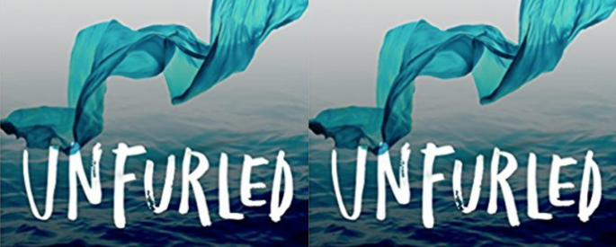 Cover image of Michelle Bailat-Jones' book Unfurled