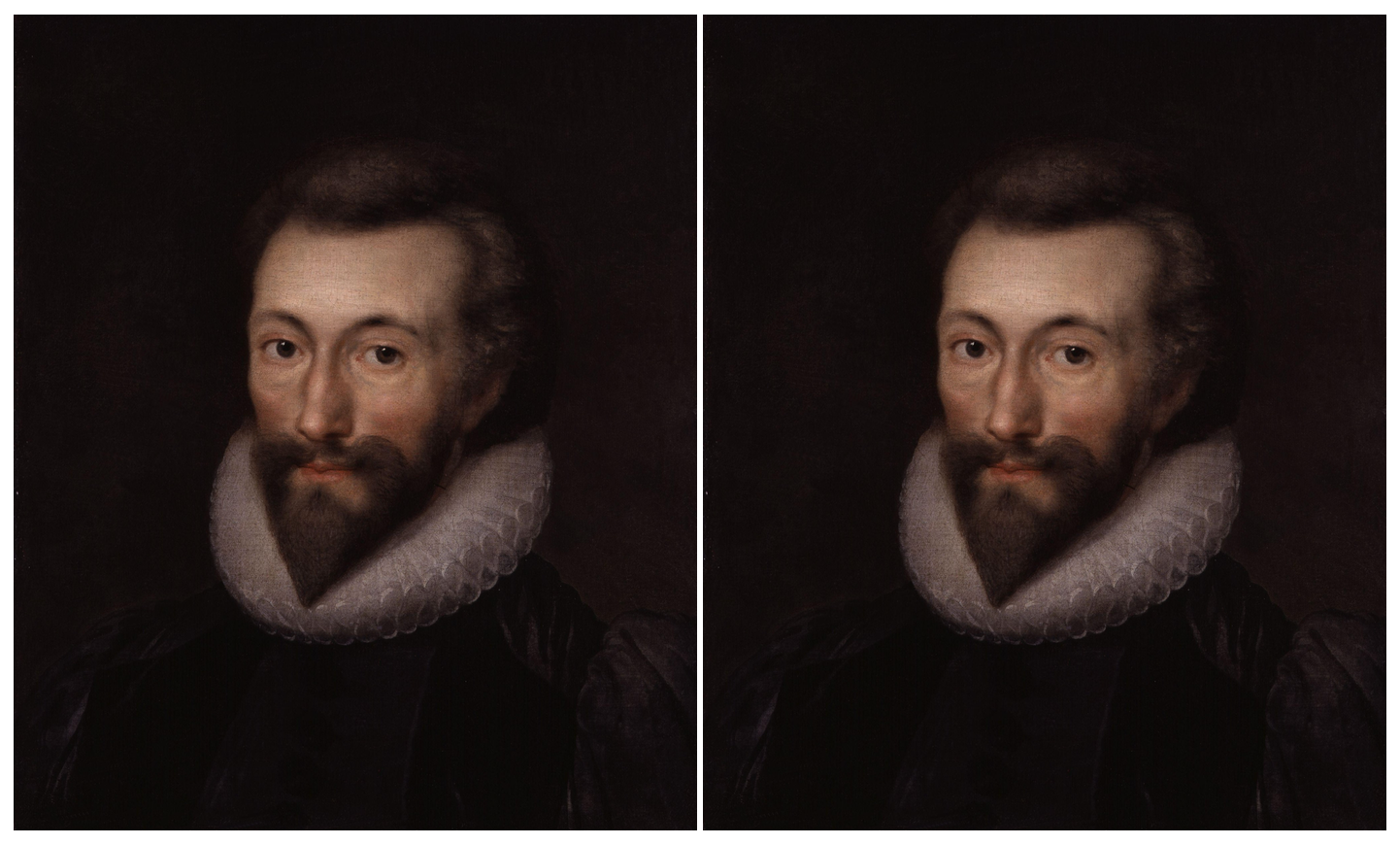 Painting of the poet John Donne.