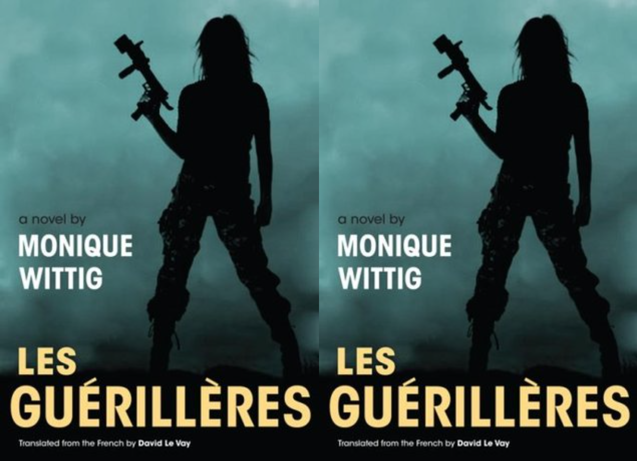 Cover art for Les Guérillères by Monique Wittig