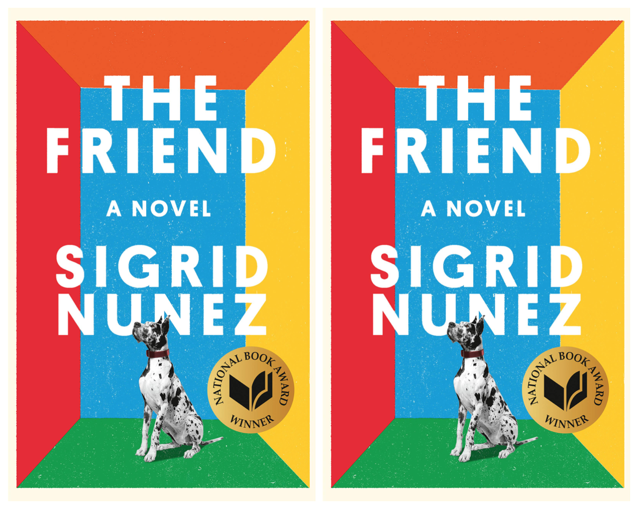 Cover art for The Friend by Sigrid Nunez