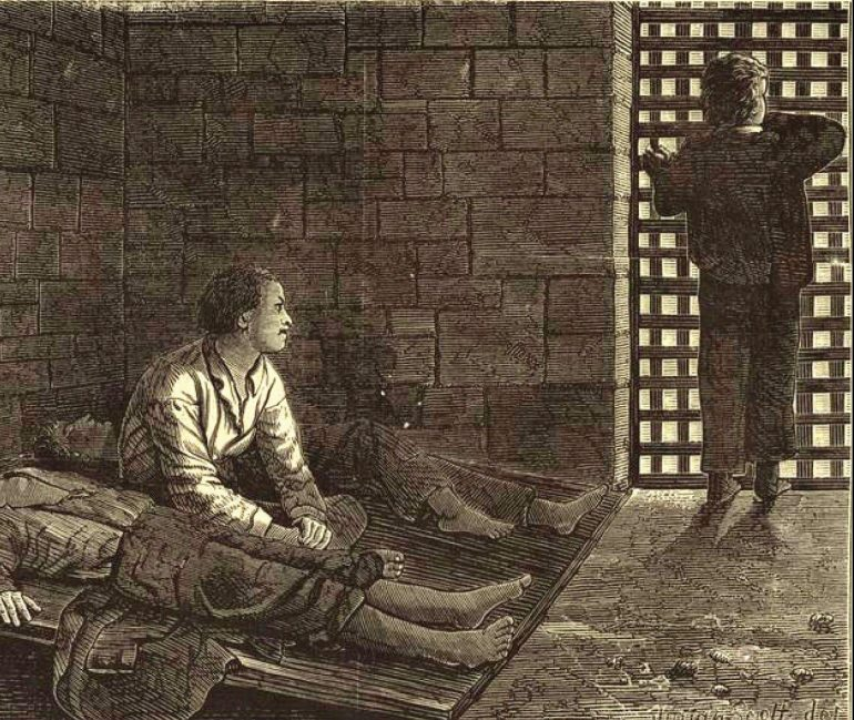 Cover image on The Life and the Adventures of a Haunted Convict