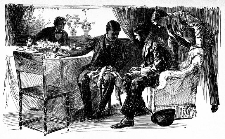 Illustration of Sherlock Holmes