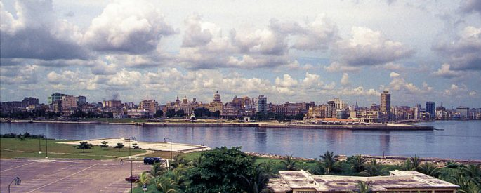 A photograph of Havana from 1991