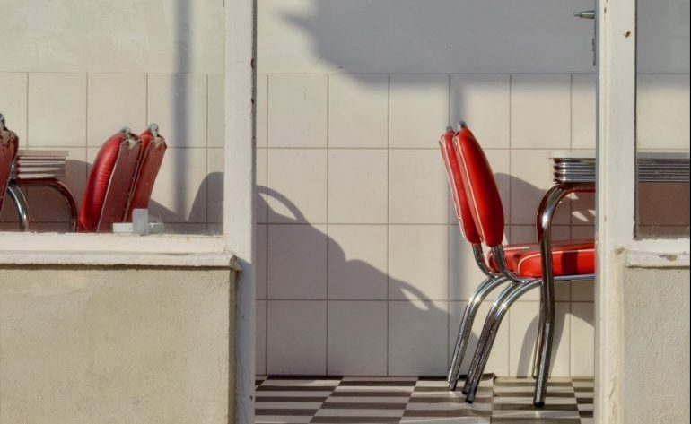 Chair at a diner