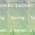 The cover of Spring by Ali Smith side by side.