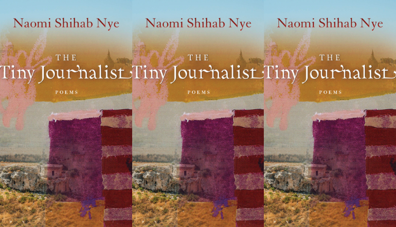 The cover of The Tiny Journalist side by side.