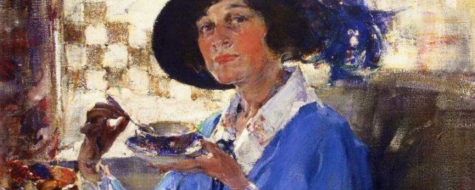Nikolai Fechin - Tea in Santa Monica