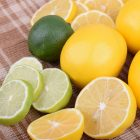 A collection of lemons and limes