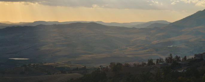 a photograph of Caltagirone, Sicily