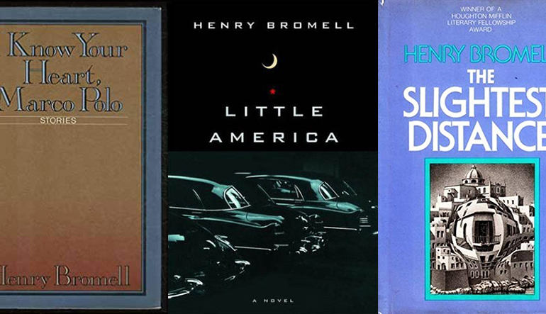 book covers for I Know Your Heart Marco Polo, Little America, and The Slightest Distance