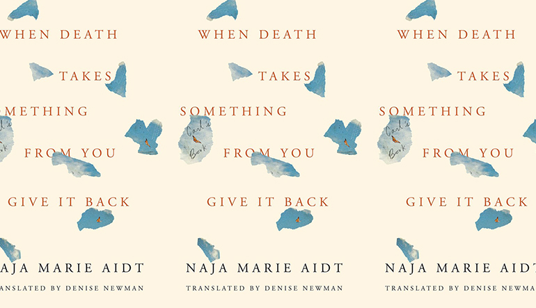 cover of When Death Takes Something From You Give It Back