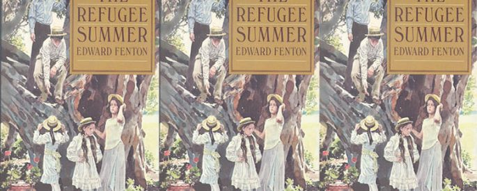 The 1982 cover of The Refugee Summer.