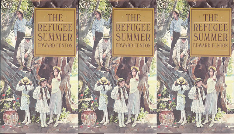 The 1982 cover of <i>The Refugee Summer</i>.