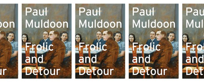 the book cover for Frolic and Detour, featuring a painting of people sitting around a table