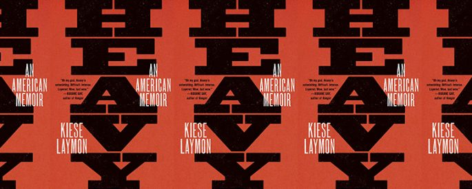 the book cover for Heavy: An American Memoir