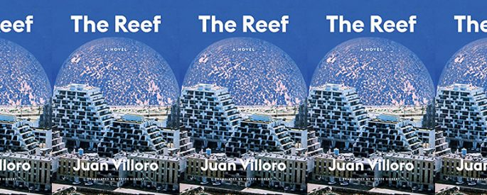 book cover for The Reef by Juan Villoro